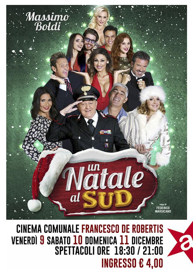 Natale Al Sud.Cinema Comunale Francesco De Robertis Prossima Proiezione Un Natale Al Sud 9 10 11 Dicembre 2016